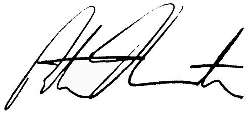 Pete Hamstra Signature