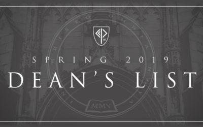 Spring 2019 Dean's List
