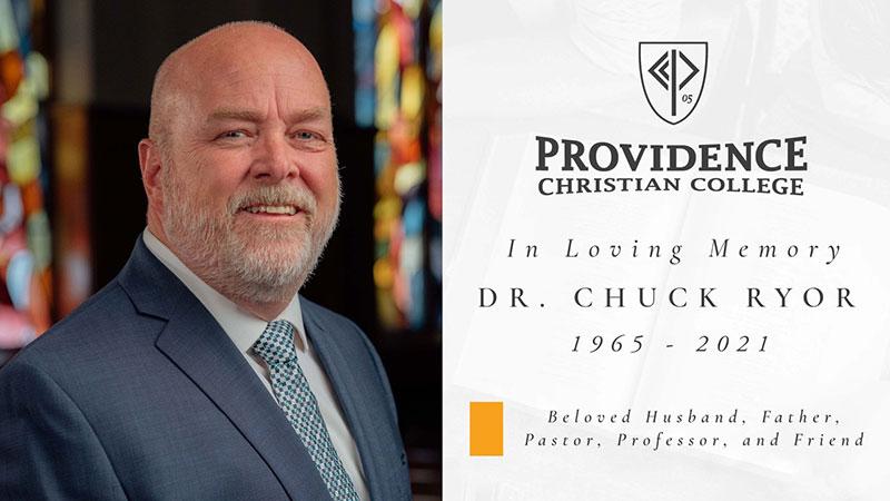 In Memoriam of DR. CHUCK RYOR 1965 – 2021