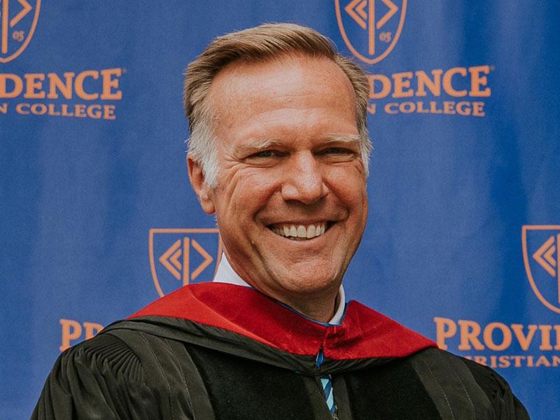 Rev. Dr. Jon D. Payne Delivers 2021 Commencement Address